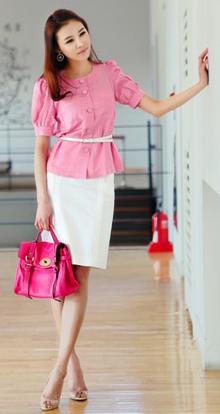 Tư vấn: Mặc đẹp với màu hồng đậm - 8
