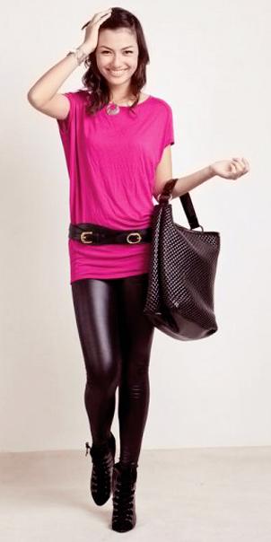 Tư vấn: Mặc đẹp với màu hồng đậm - 9