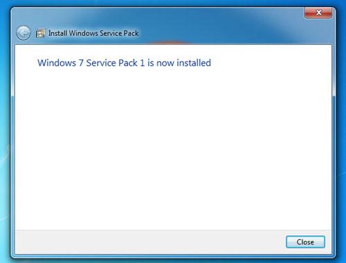 Hướng dẫn cài đặt & Gỡ bỏ Service Pack 1 trên Windows 7 - 4