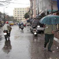 Rộ tin đồn mưa axit ở miền Bắc