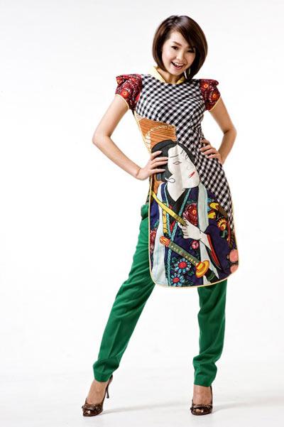 Sao Việt xấu - đẹp với áo dài cách tân - 18