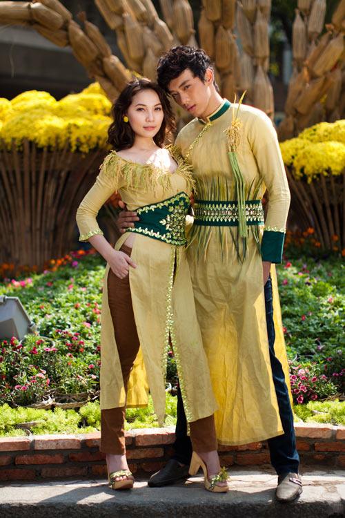 Sao Việt xấu - đẹp với áo dài cách tân - 5