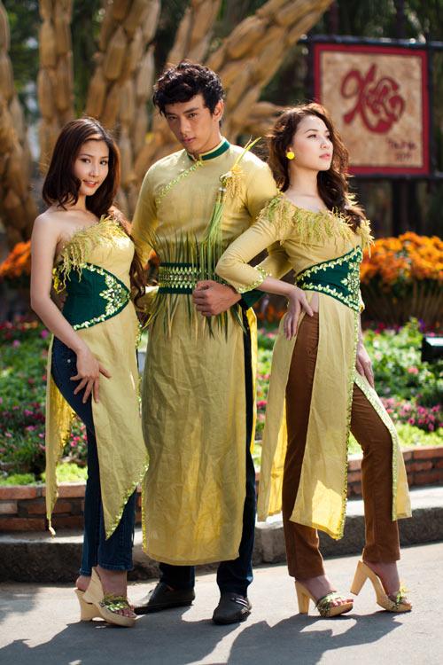 Sao Việt xấu - đẹp với áo dài cách tân - 4