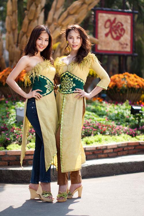 Sao Việt xấu - đẹp với áo dài cách tân - 3