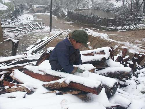 Chùm ảnh: Tuyết rơi đầy ở Lào Cai - 1