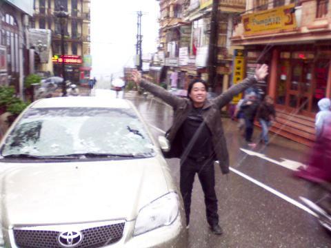 Chùm ảnh: Tuyết rơi đầy ở Lào Cai - 10