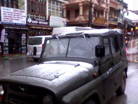 Chùm ảnh: Tuyết rơi đầy ở Lào Cai - 5