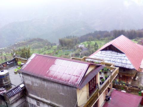 Chùm ảnh: Tuyết rơi đầy ở Lào Cai - 6
