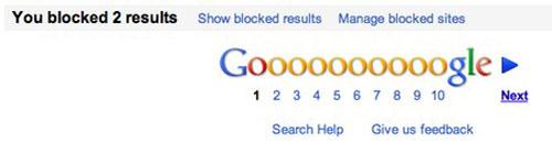 Google cho phép người dùng khóa website tìm kiếm - 2