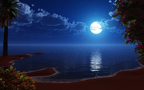"""Download miễn phí hình nền chủ đề """"ánh trăng"""" - 6"""