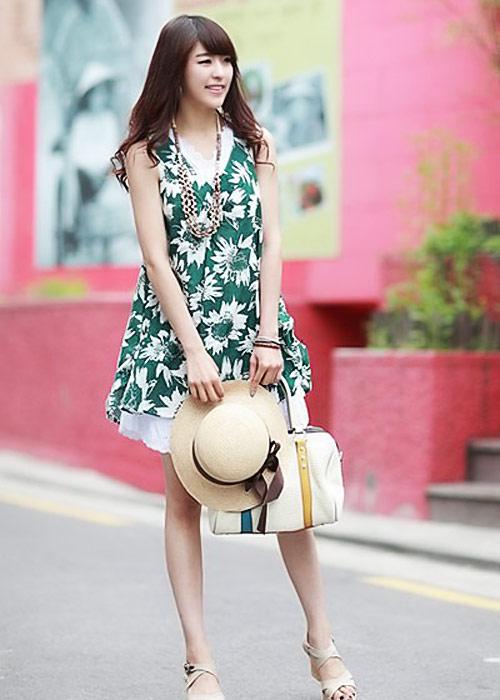 Diện váy hoa đón nắng ấm - 6