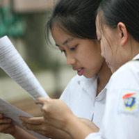 Bảng phân chia khu vực, mã tỉnh tuyển sinh TCCN 2011