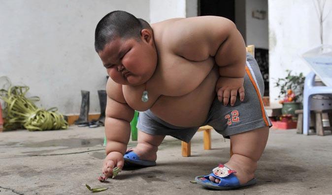 Siêu bự 3 tuổi nặng 60 kg - 4