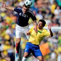 Video Brazil - Scotland: Hứng khởi (Giao hữu)