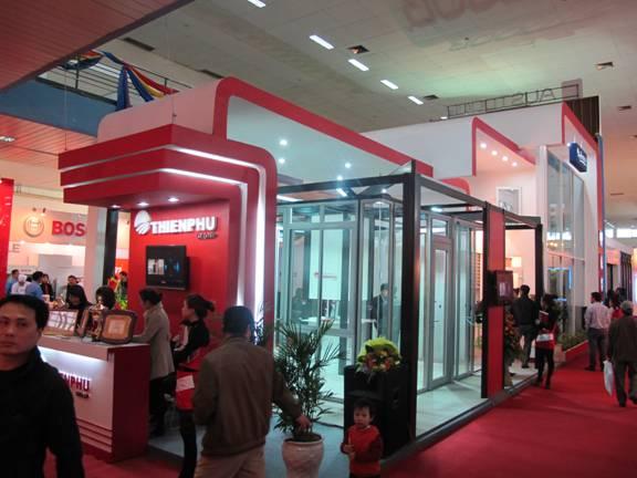 Tập đoàn Công nghiệp Thiên Phú tham gia triển lãm quốc tế Vietbuild Hà Nội 2011 - 1