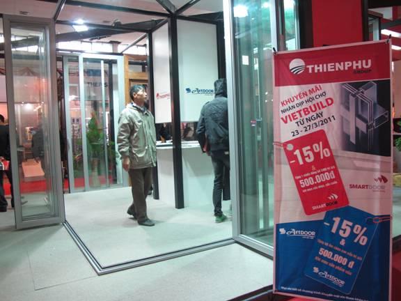 Tập đoàn Công nghiệp Thiên Phú tham gia triển lãm quốc tế Vietbuild Hà Nội 2011 - 3