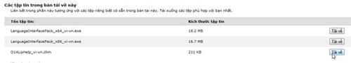 Cài đặt giao diện tiếng Việt cho Microsoft Office 2010 - 1