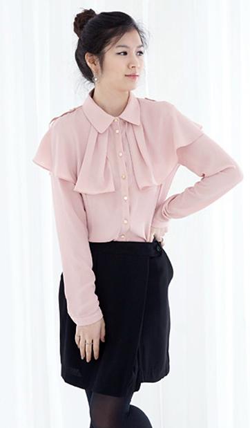 Tư vấn: Mặc áo kiểu cho dáng người tròn - 9