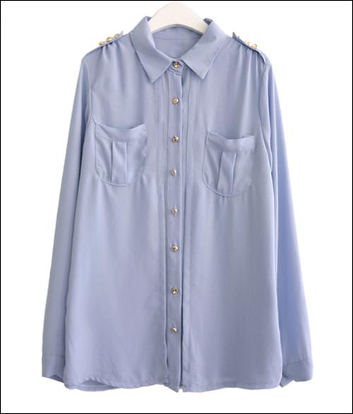 Tư vấn: Mặc áo kiểu cho dáng người tròn - 4