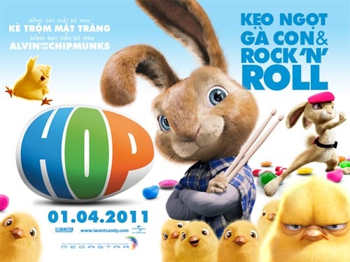 """""""HOP"""": Cuộc chiến trên đảo Phục Sinh, Phim, HOP, phim moi, Russel Brand, James Marsden, phim"""