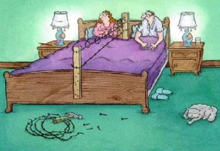 Biếm họa: Khi vợ ta... cấm vận chuyện ấy - 3