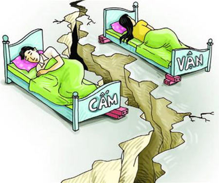 Biếm họa: Khi vợ ta... cấm vận chuyện ấy - 5