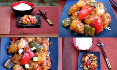 Thịt lợn sốt chua ngọt ngon tuyệt - 12
