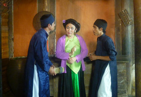 Xem Xuân Hinh giả gái trong hài tết 2012 - 10