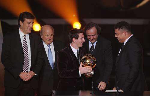 QBV FIFA 2011: Messi trên đỉnh thế giới - 2