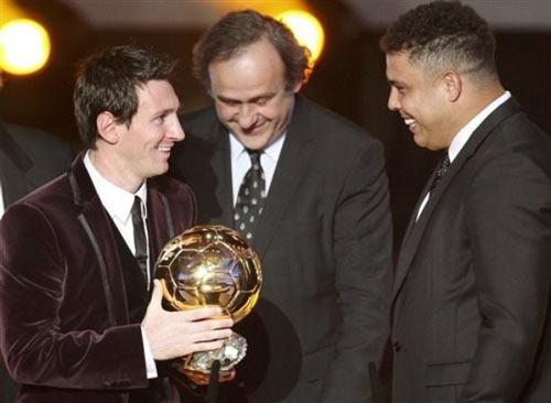 QBV FIFA 2011: Messi trên đỉnh thế giới - 7
