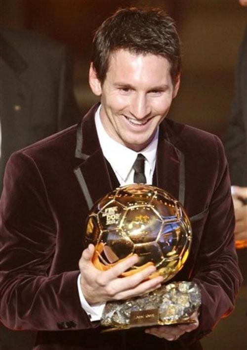 QBV FIFA 2011: Messi trên đỉnh thế giới - 6