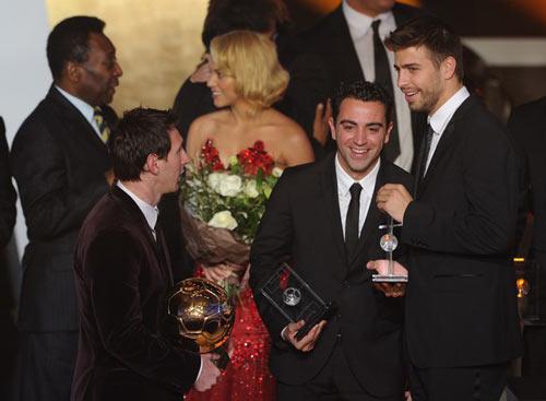 QBV FIFA 2011: Messi trên đỉnh thế giới - 4