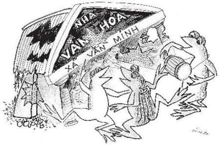 Chùm tranh biếm họa của Lý Trực Dũng, Cười 24H, biem hoa, tranh vui, truyen cuoi, bao, hoi quan 24h, ly truc dung