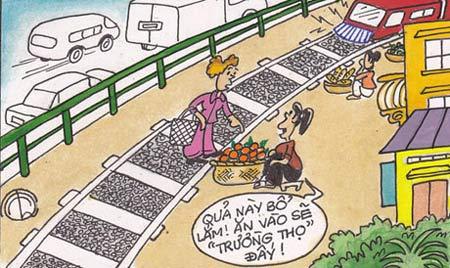 Biếm họa về những con đường - 7