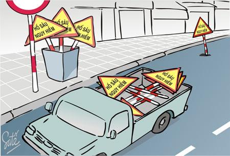 Biếm họa về những con đường - 9