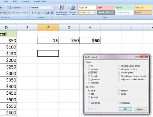 10 cách sử dụng tính năng Paste trong Excel - 2