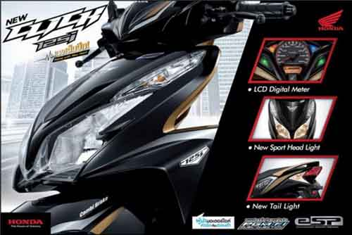 Lộ diện Honda Click 2012 sắp về Việt Nam - 5