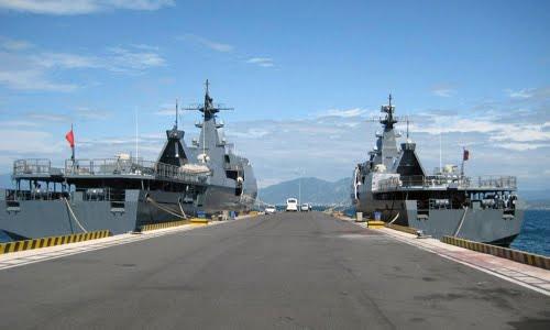 Tàu chiến hải quân VN dũng mãnh trên biển - 2