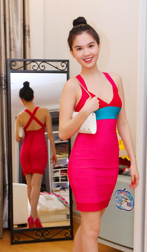 Ngày Tết của hoa hậu Ngọc Trinh - 20