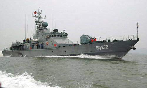 Tàu chiến hiện đại nhất do VN sản xuất - 1