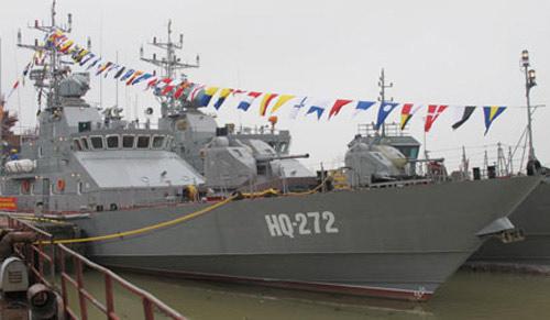 Tàu chiến hiện đại nhất do VN sản xuất - 2