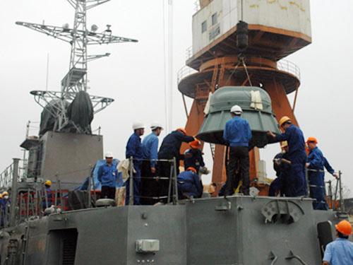 Tàu chiến hiện đại nhất do VN sản xuất - 3