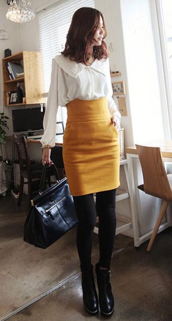 Mặc đẹp thuyết phục với màu vàng mù-tạt - 21