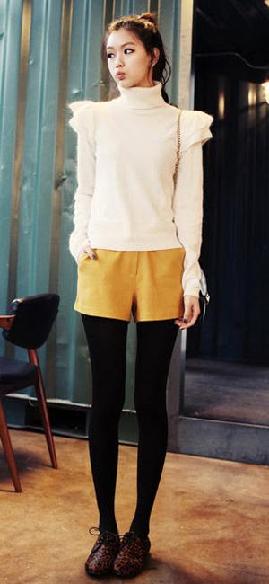 Mặc đẹp thuyết phục với màu vàng mù-tạt - 6
