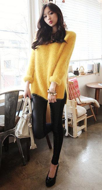 Mặc đẹp thuyết phục với màu vàng mù-tạt - 7