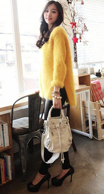 Mặc đẹp thuyết phục với màu vàng mù-tạt - 8