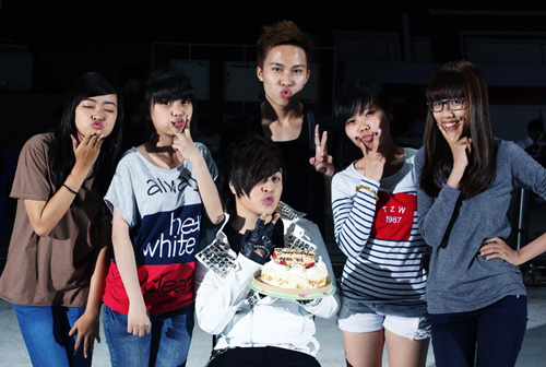 """WanBi tiếc vì """"hôn hụt"""" bạn gái Hàn Quốc - 3"""