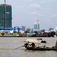 Nước sông Sài Gòn biến đổi theo triều