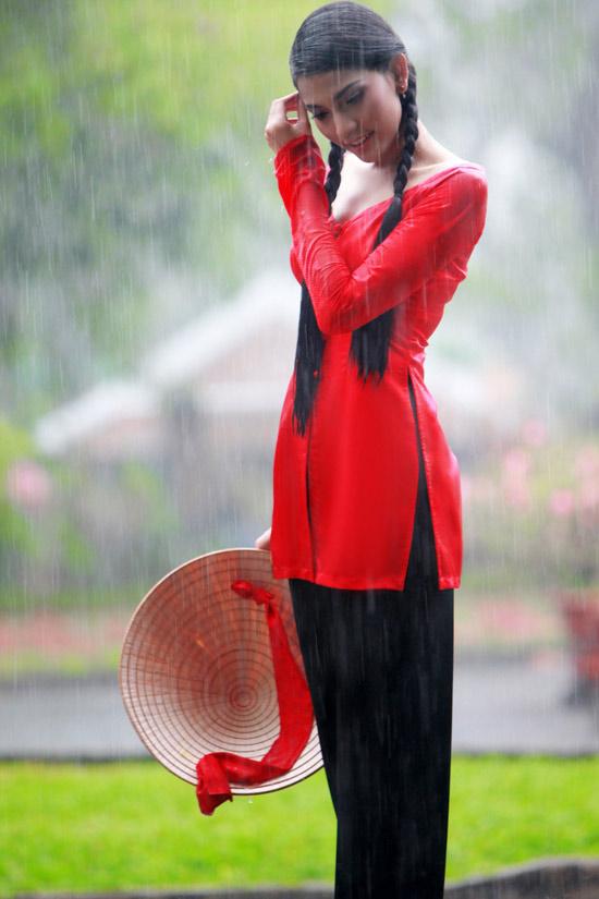 Trương Thị May hiền hòa với áo bà ba - 10