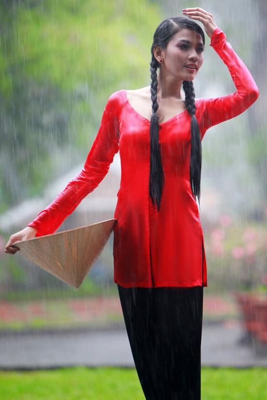Trương Thị May hiền hòa với áo bà ba - 12